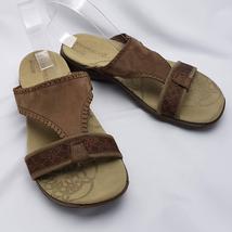 Merrell Women's Sz 10 Sandal Slide Sweet Pea Dark Earth Brown J57542 - $39.60