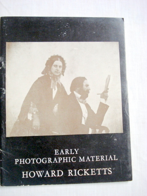 Primary image for Exhibition of Early Photographic Material 1971 Ricketts
