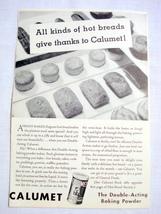 1962 Ad Calumet The Double-Acting Baking Powder - $9.99
