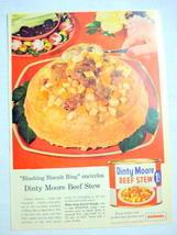1957 Ad Dinty Moore Beef Stew, Hormel, Austin, Minn. - $9.99