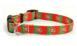 Small Portuguese Flag Dog Collar - $9.00