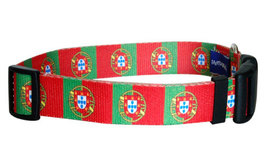 Medium Portuguese Flag Dog Collar - $12.00