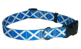 Medium Scottish Flag Dog Collar - $12.00