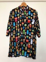 Reyn Spooner X Disney Tsum D23 Expo Japon 2018 Limitée Aloha Shirt M Taille Used - $1,073.45
