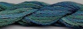 Blue Groper 163 Silk Floss Dinky Dyes 8m (8.7yds) cross stitch embroidery - $3.60