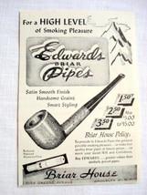 1946 Ad Edwards Briar Pipes, Brooklyn, N. Y. - $9.99