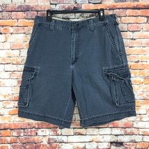Izod Mens Size 34 Bluish Cargo Denim Shorts - $13.84