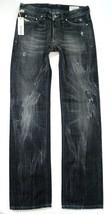 New Diesel Men's Designer Denim Straight Leg Black Distressed Jeans Viker 008UP image 2