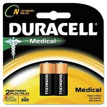 Duracell MN9100B2PK Coppertop Alkaline Medical Battery, N, 1.5V, 2/Pk - $7.79