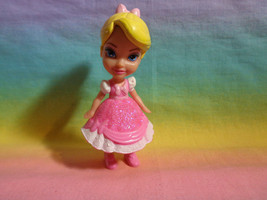 Disney Princess Poseable Mini Toddler Figure Aurora Sleeping Beauty Doll... - $2.48