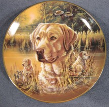 Devoted Partner Collector Plate Study Of A Champion Bruce Langton Dogs P... - $21.95