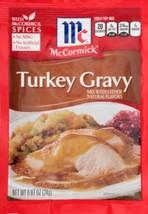 McCormick Turkey Gravy Mix 0.87 oz (Pack of 3) - $11.83