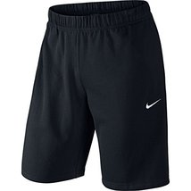 NIKE Men's Crusader Shorts, Black/White, X-Large