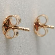 """925 STERLING ROSE SILVER """"LE FAVOLE"""" GIRL EARRINGS, TALE, SATIN, MADE IN ITALY image 3"""