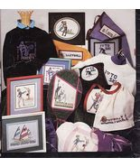 Cross Stitch 17 Sport Tennis Golf Ski Volleyball Softball Gymnastics BMX... - $10.99