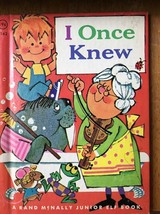 I Once Knew Rand McNally Junior Elf 8142 Hard Back Children's Book vinta... - $10.62