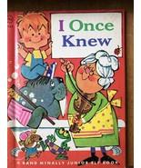 I Once Knew Rand McNally Junior Elf 8142 Hard Back Children's Book vinta... - $10.62