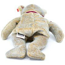 1999 TY Beanie Baby Signature Bear Embroidered Heart Beanbag Plush Toy Doll image 5