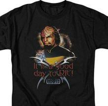Star Trek Worf t-shirt Good day to Die Next Generation graphic tee CBS1086 image 3