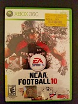 NCAA Football 10 (Microsoft Xbox 360, 2009) - $3.91