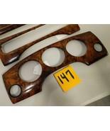 1999 XJ8 VDP 3 Piece Wood Dash Vent Bezel Set Beautiful Used OEM Part #147 - $123.75
