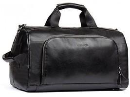 BOSTANTEN Genuine Leather 15 Inch Travel Weekender Overnight Duffel Bag Gym For - $245.97