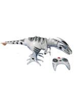 "T Rex WowWee Roboraptor w/ Remote Control Walking Dinosaur 32""L See Video - $54.45"