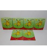 POKEMON McDONALDS CARDS - 6 UNOPENED PACKS - FREE SHIPPING! - $56.10