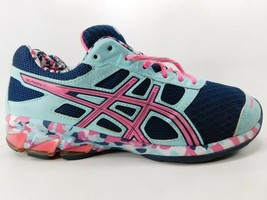 Asics Gel Frantic 7 Size 9 M (B) EU 40.5 Women's Running Shoes Blue Pink T3A6Q