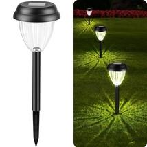 Solar Pathway Lights Outdoor Garden - 6 Pack 15.5 Inch Stake Solar Lan - $47.99