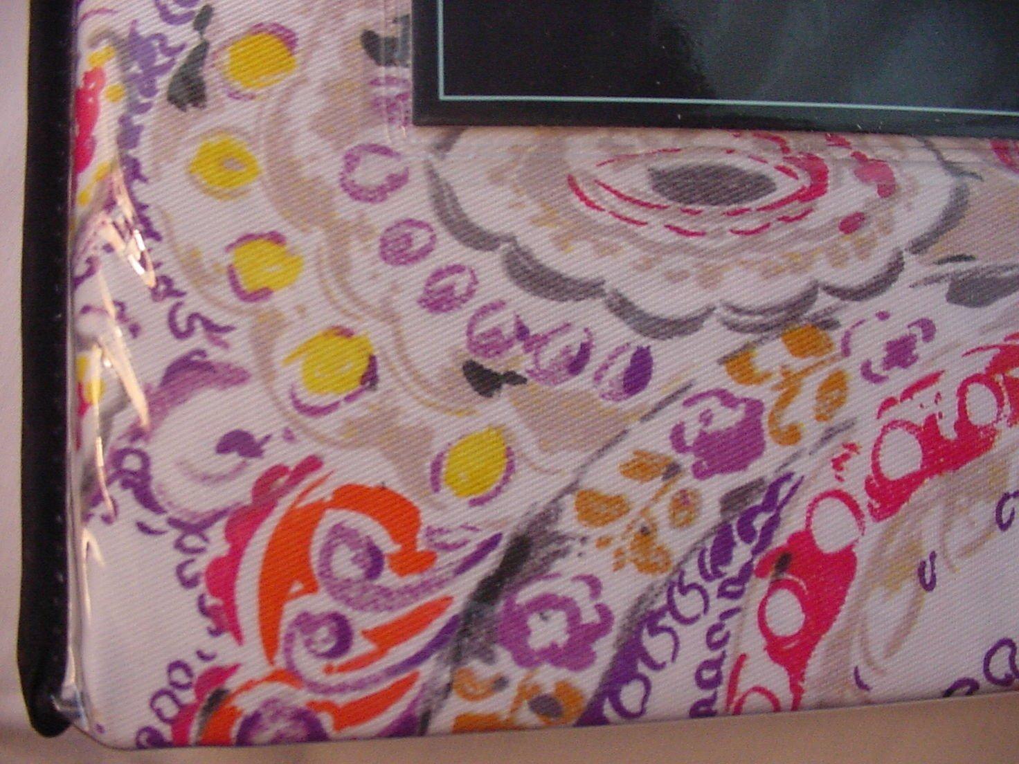 Cynthia Rowley Eaton Paisley Purple Orange Red Yellow Shower Curtain