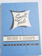 1951 Brown & Sharpe Small Tools Catalog No. 35 - $14.99