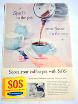 1957 Ad S.O.S. Magic Scouring Pads - $9.99