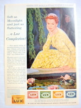 1957 Ad Lux Soap with Deborah Kerr - $9.99