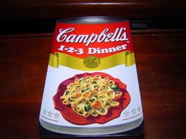 *New* Campbell's 1 2 3 Dinner 3 Step Recipe Cookbook (2004) New - $7.84