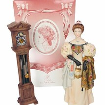 Avon figurine 2000 Mrs PFE Albee clock sculpture NIB box statue decor gift vtg - $74.25