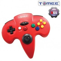 Nintendo 64 Tomee Controller (Red) New In The Box - $11.49
