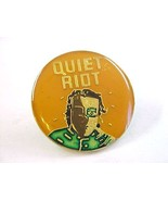 Vintage 1980's Quiet Riot Music Group Enamel Metal Pin  - $5.99