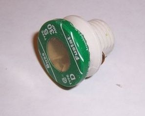 Bussmann S Series Rejection Base Fuse 30 amp Fustat