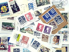 Stamps for the little collector, Denmark, Europe a.o. Make an Offer! - $999,999.99