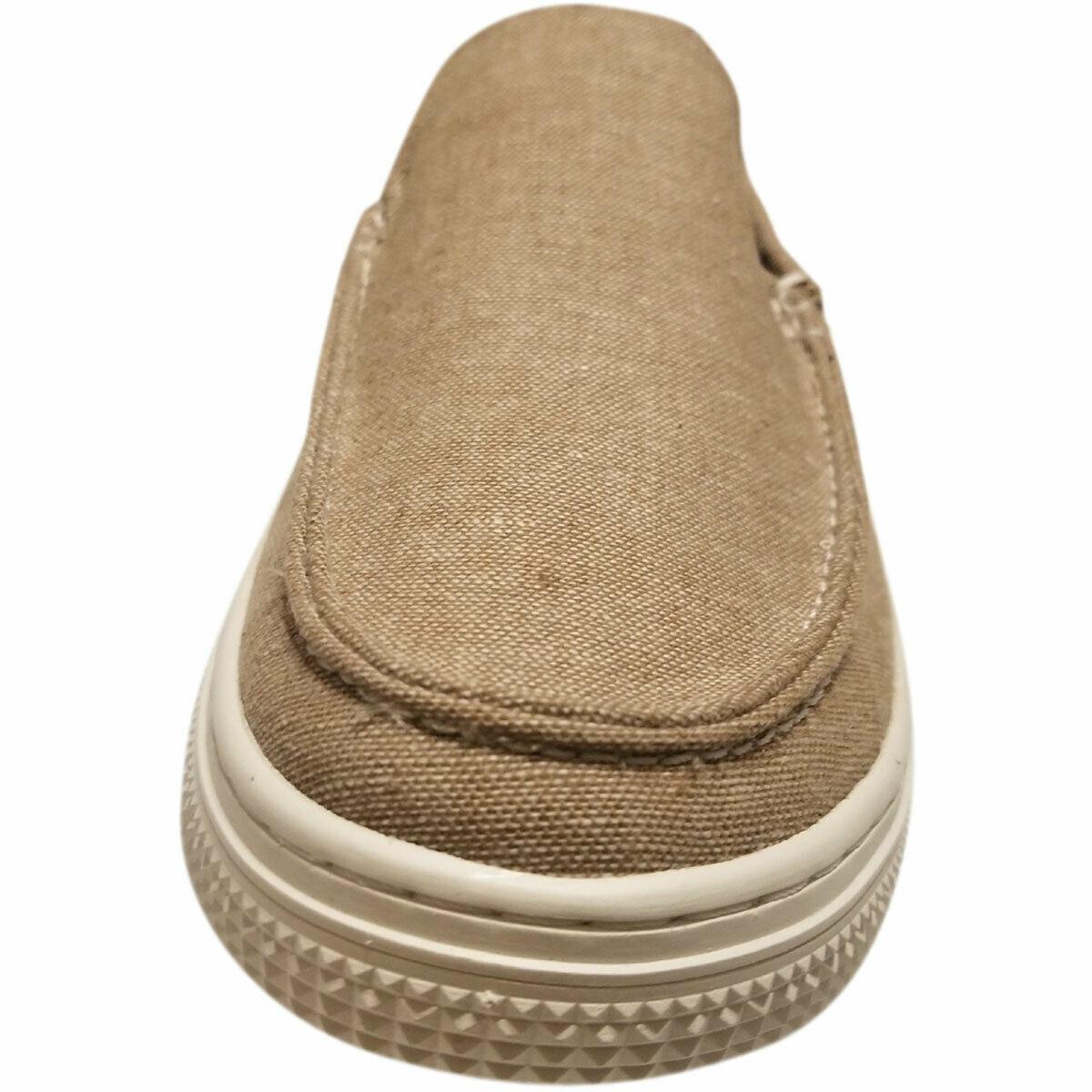 Kenneth Cole Reaction Men's Ankir Canvas Slip-on Boat Shoes Beige Sand 9.5 M ... image 2
