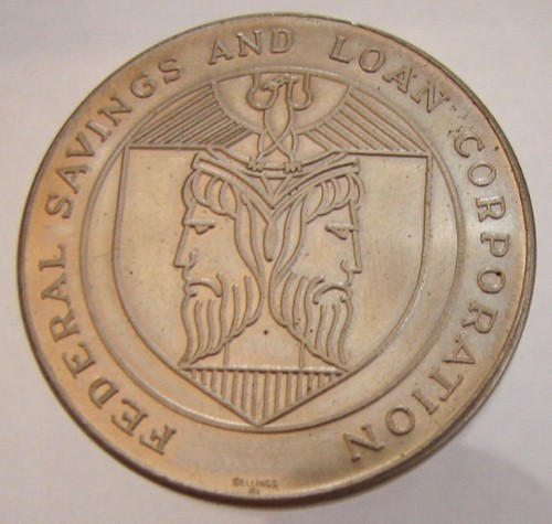 FEDERAL SAVINGS AND LOAN CORPORATION SECURITY CAPITAL CORPORATION LIMITED MEDAL