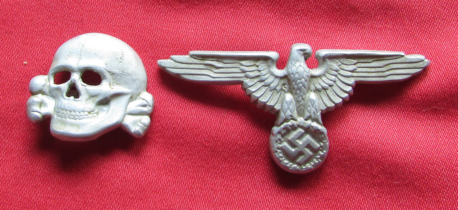 German SS Hat Eagle and Totenkoft (Skull) and 43 similar items