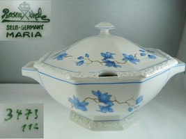 Rosenthal Maria 3473 Blue Floral Soup Tureen - $197.99