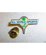 ALL WORLD SPORTS BOXING ? Lapel Pin - $5.39