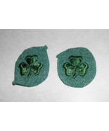 Vintage Lot of 2 Girl Scouts 2nd Second Class Badge Patch - $5.49