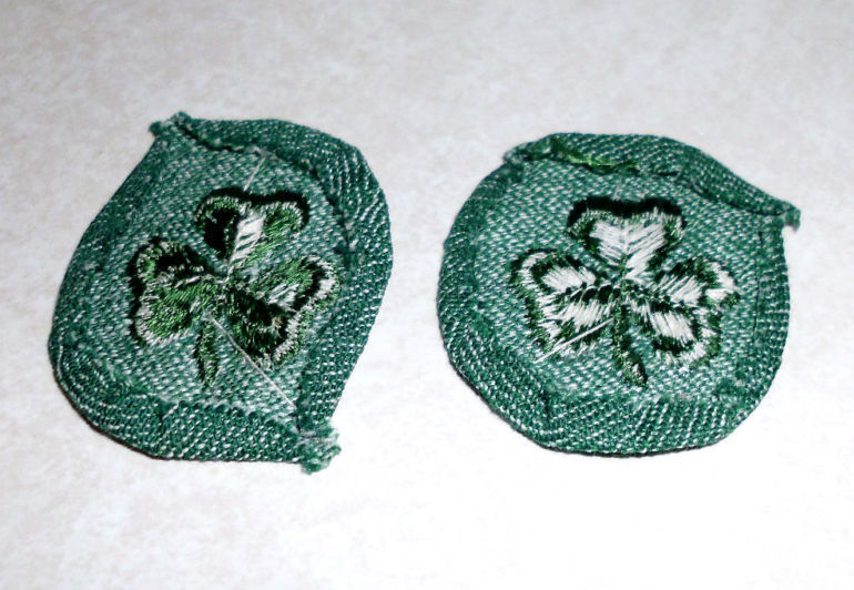 Vintage Lot of 2 Girl Scouts 2nd Second Class Badge Patch