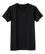 NWT UNIQLO Dry T-shirt Crew neck Short sleeved Black Unisex  - $12.90