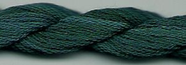 Jungle Green 194 Silk Floss Dinky Dyes 8m (8.7yds) cross stitch embroidery - $3.60