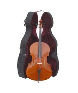 Crystalcello MC150 4/4 Size Cello with Case, Bag and Bow - $359.99